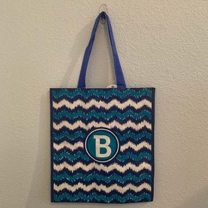 "Reusable Bag with letter ""B"""